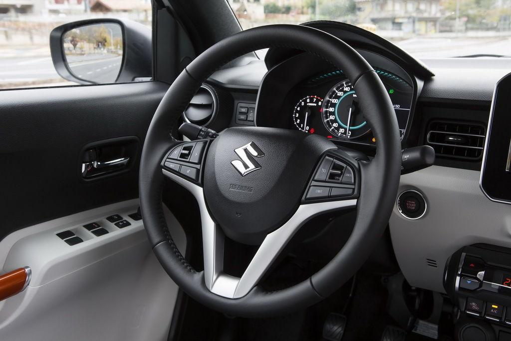 Content interior   steering wheel