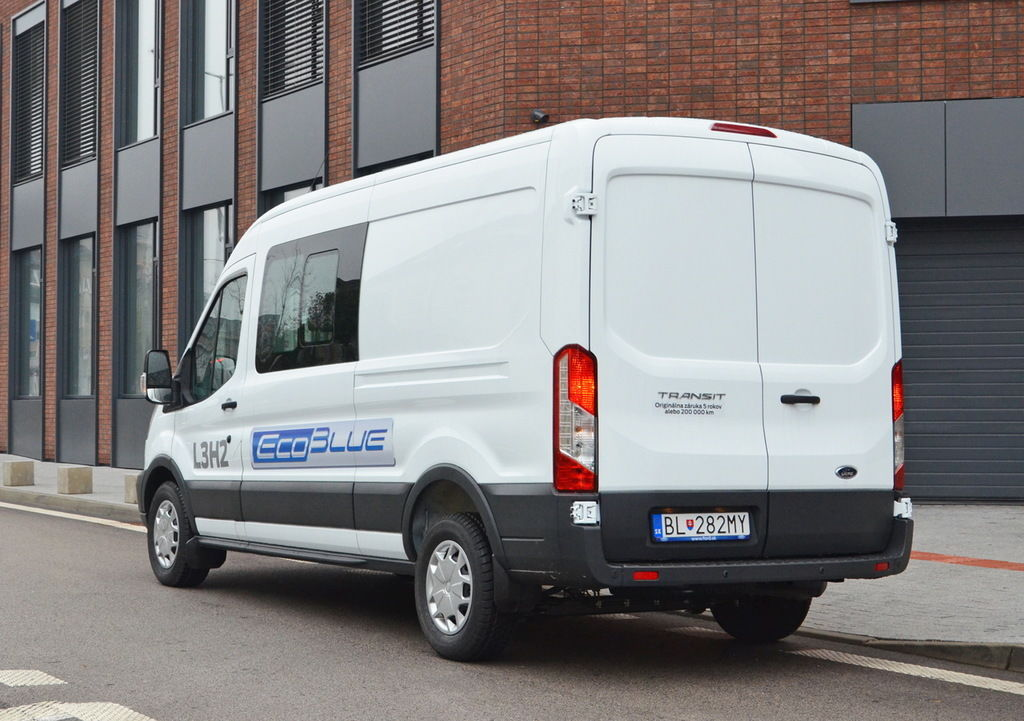Content ford transit dcivan zadny