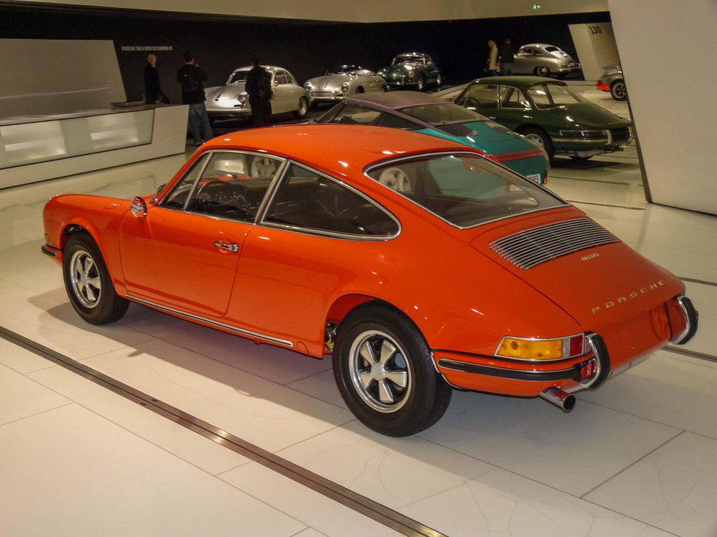 Content 1970 porsche 911 prototype 4 seater museum rear 0