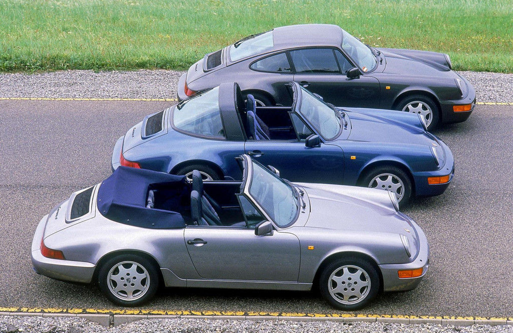 Content 1990 964 carrera 4 cab targa coupe