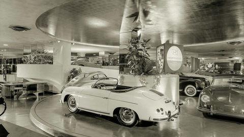 Thumb new york circa 1955. the max hoffman car showroom