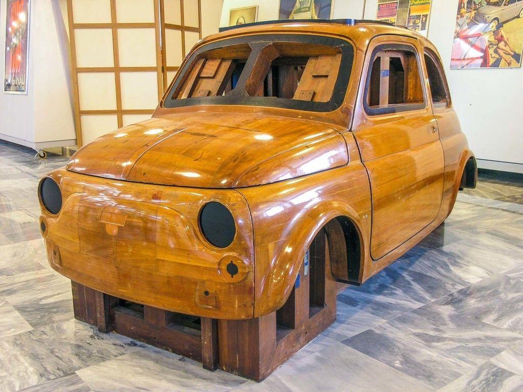 Content master fiat 500 in legno