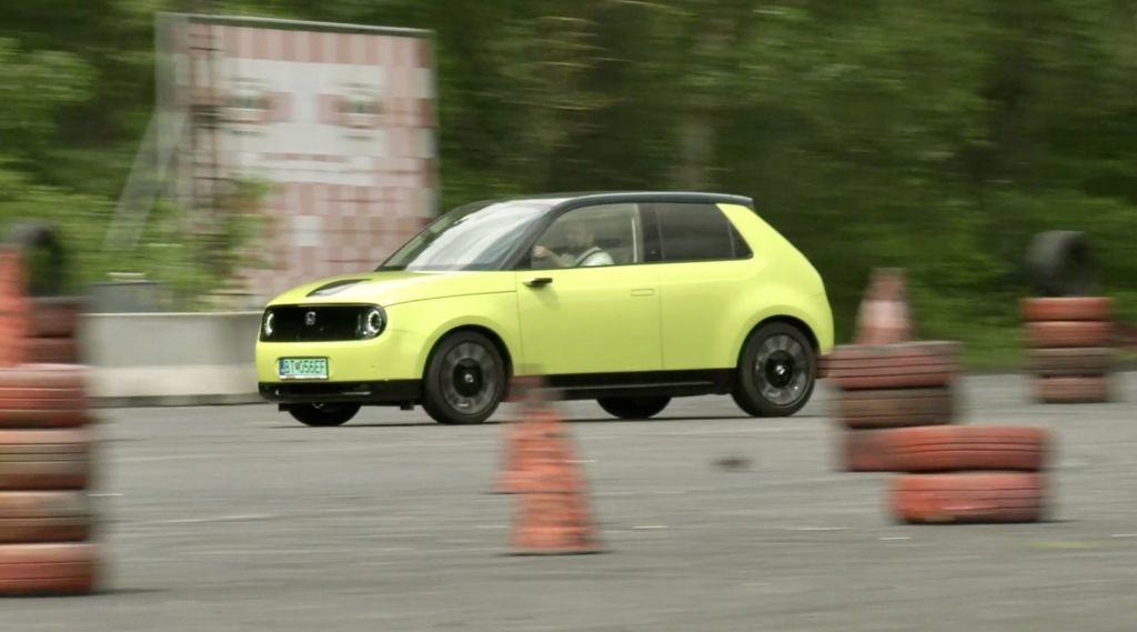 Test Honda e 2020