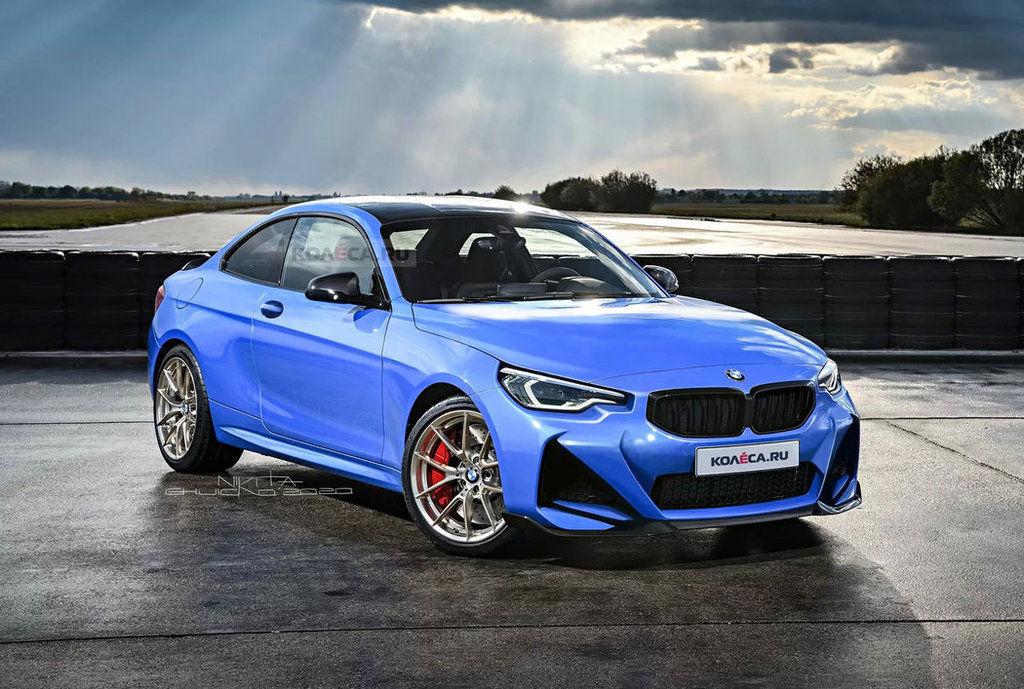 nové BMW 2 Coupé 2021