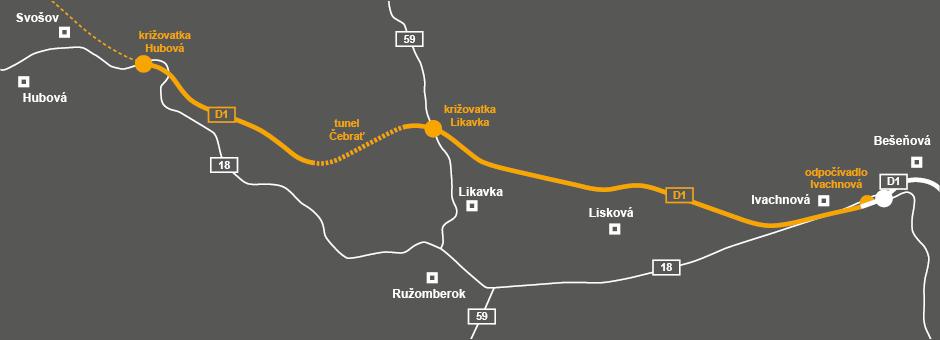 D1 Hubová Ivachnová