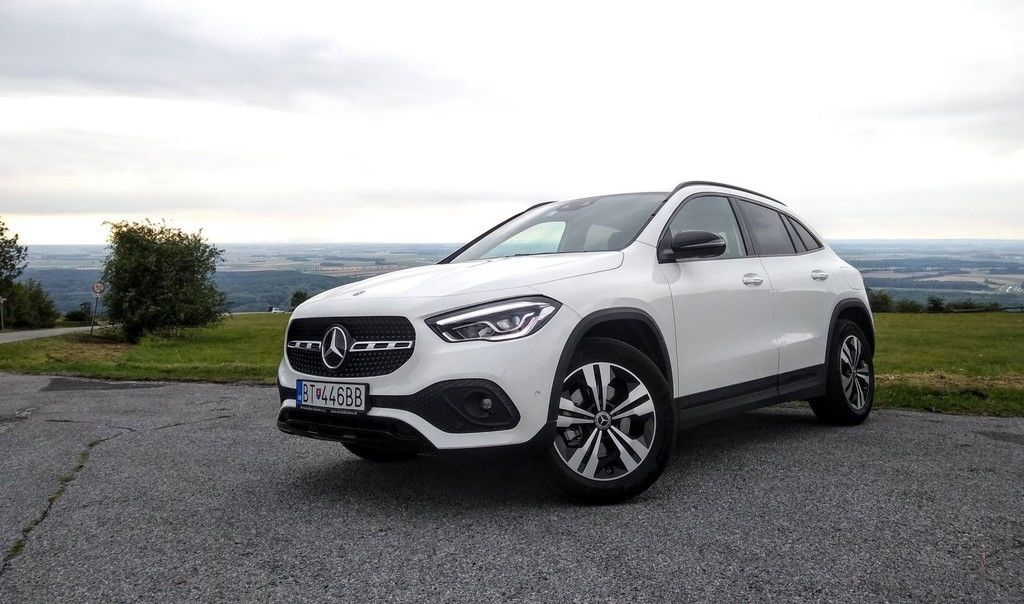 TEST Mercedes Benz GLA