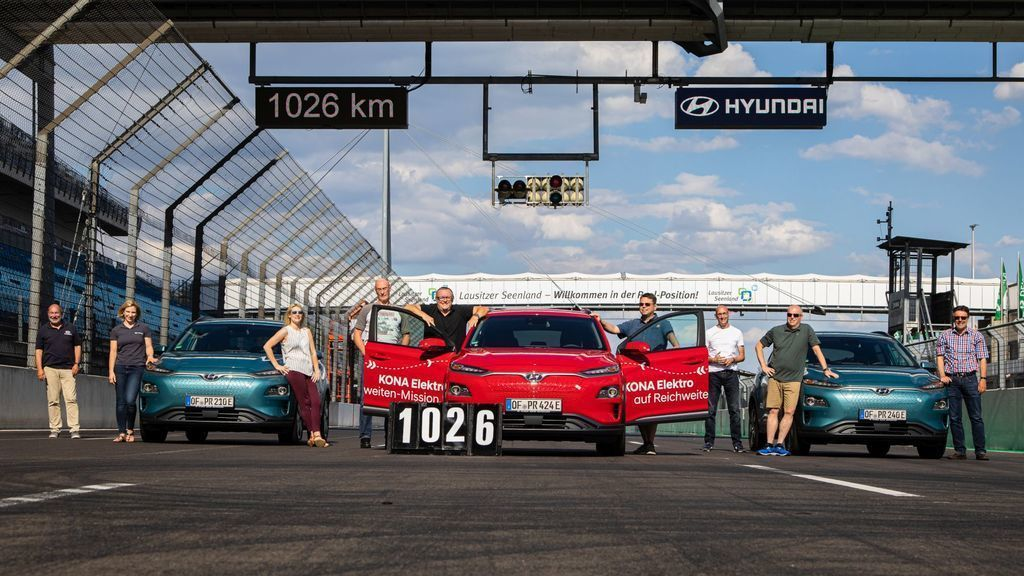 Hyundai Kona EV Electric 1000 km