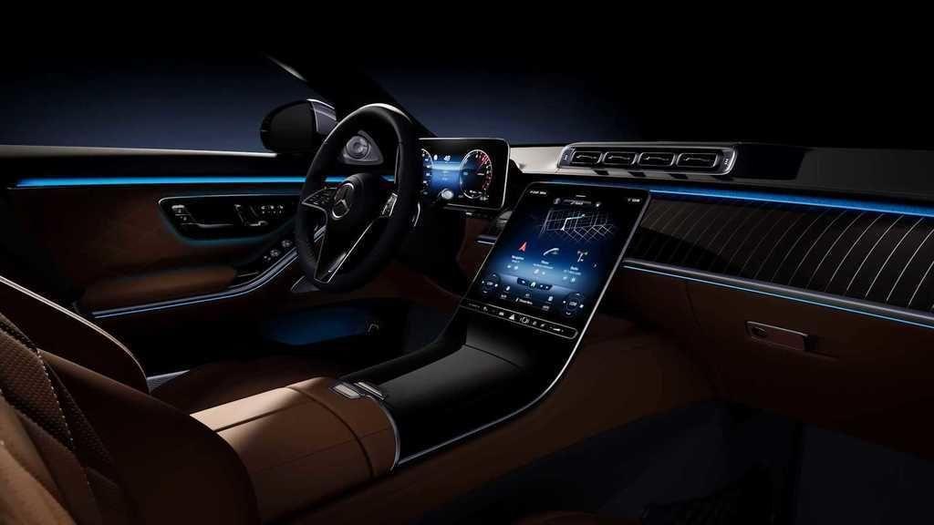 Mercedes-Benz S 2021 interier