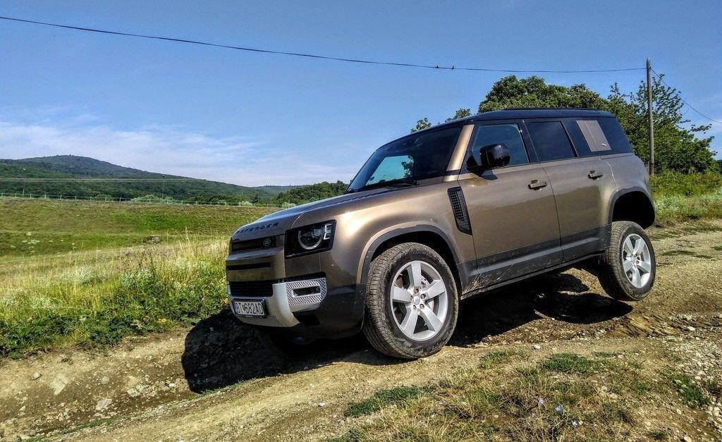 TEST Land Rover Defender 2020