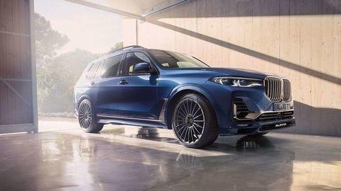 Majestátne BMW Alpina XB7 mieri do výroby. Jazdí až 290 km/h