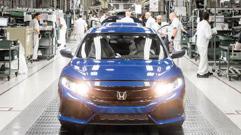 Honda zatvorí jedinú európsku fabriku. Výrobu presunie do Japonska