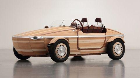 Elektrický roadster z dreva?! Pripomeňme si Toyotu Setsuna