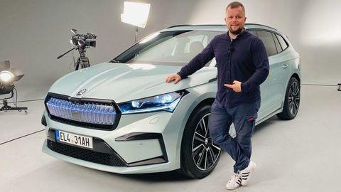 Škoda Enyaq iV oficiálne: Videli sme ju naživo! (VIDEO)