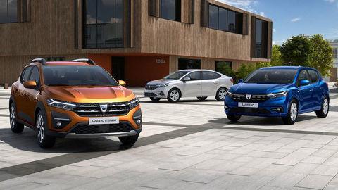 Dacia oficiálne odhalila nové Sandero a Logan s moderným kabátom