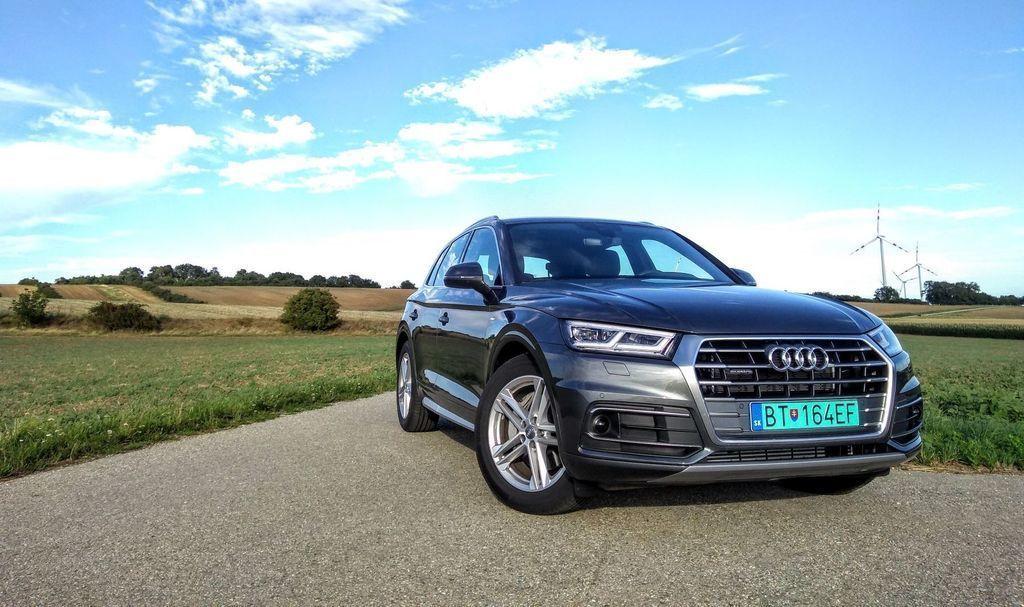 Audi Q5 50 TFSI e test
