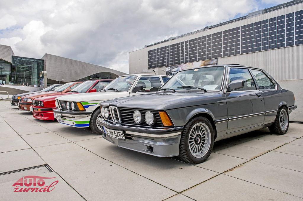 Trojkový rad BMW oslavuje 45. výročie