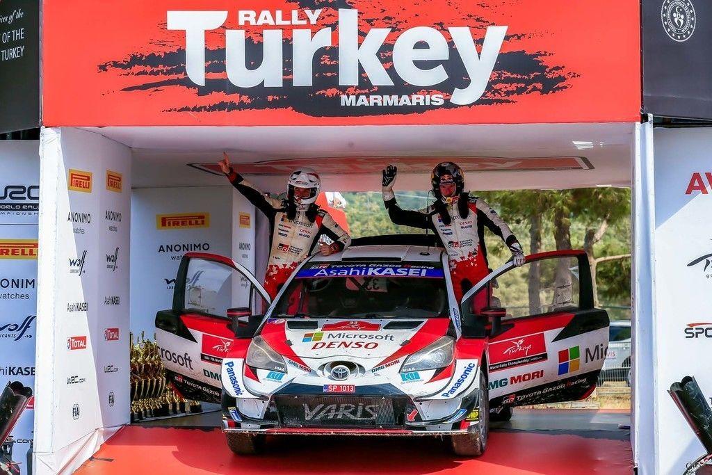 Rallye Turecko 2020 výsledky