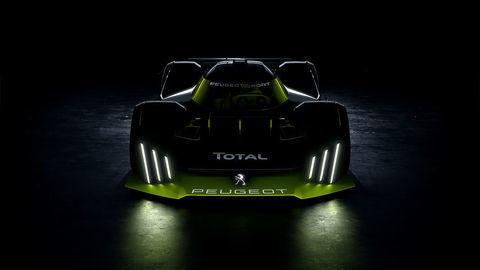 Peugeot a Total vyvíjajú hybridné hyperauto pre Le Mans