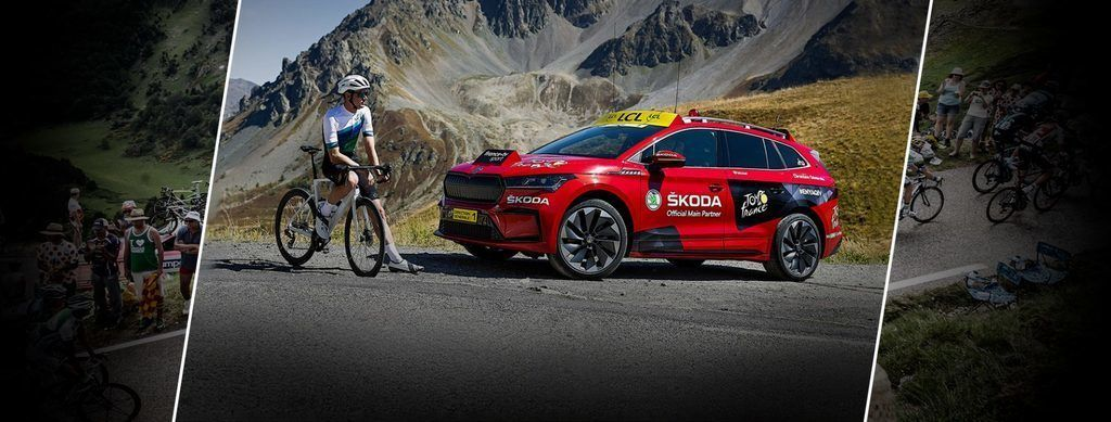 Škoda Enyaq Tour De France