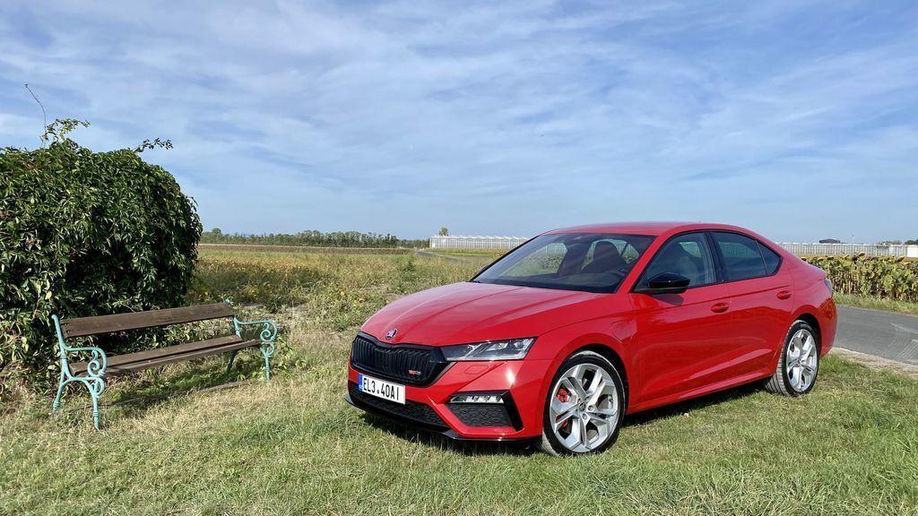 JAZDA Škoda Octavia RS iV: Ide plug-in hybrid a šport dokopy?