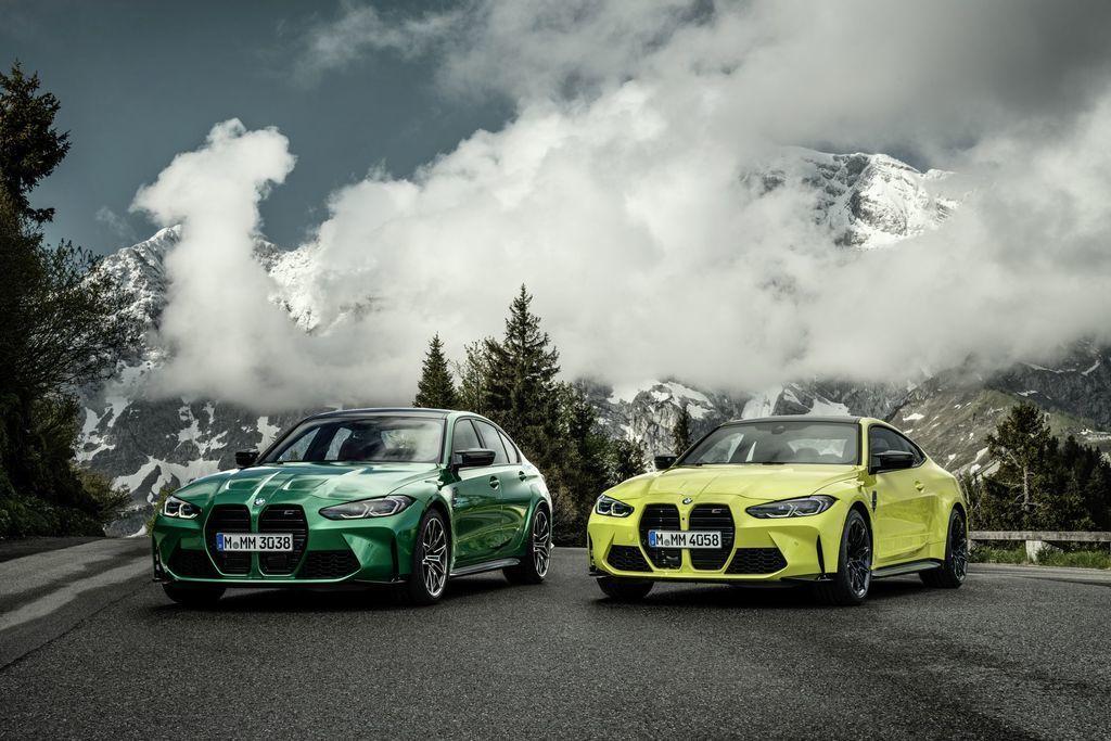 BMW M3 a BMW M4 2021