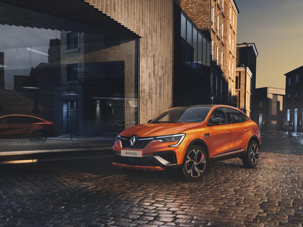 Renault Arkana v Europe