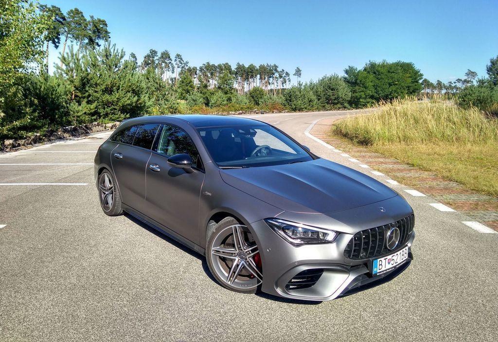 TEST Mercedes-AMG CLA 45 S