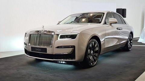 Rolls-Royce Ghost debutoval vPrahe