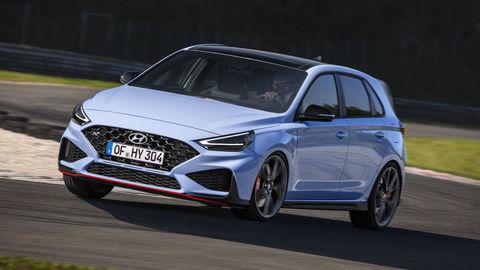 Modernizovaný Hyundai i30 N 2021: Viac výkonu a radosti z jazdy!