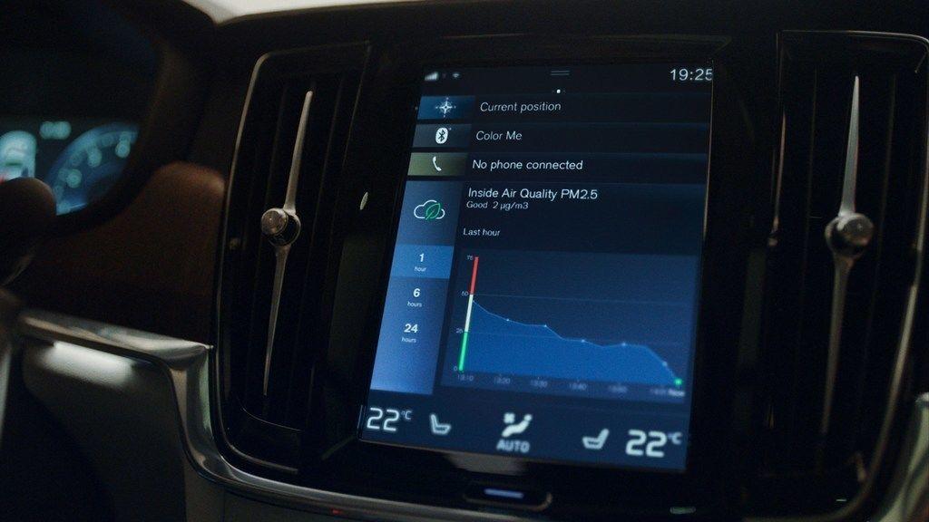 Volvo zlepsovanie vzduchu v kabine