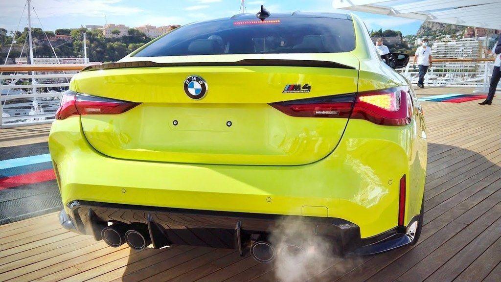 BMW M4 zvuk motora