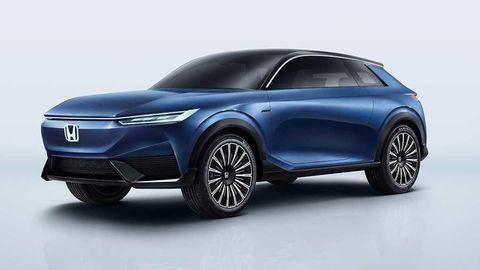 Honda SUV e:concept je predobrazom nového SUV-kupé značky