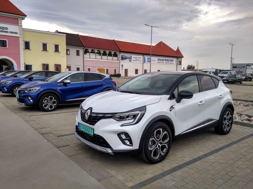 Renault hybridy E-Tech