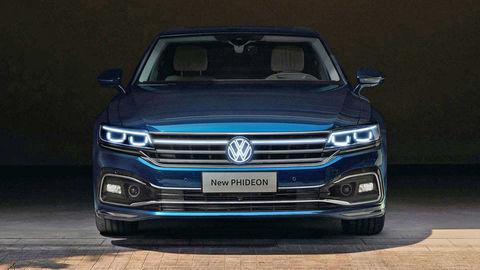 Luxusný Volkswagen Phideon prešiel faceliftom. Pod kapotou je len dvojliter