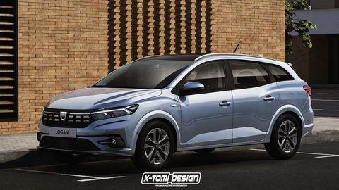 Takto mohla vyzerať nová Dacia Logan MCV. Značka s ňou nepočíta