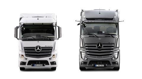 Trh truckov spestrí Actros F a Edition 2