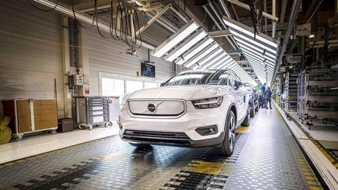 Thumb volvo xc40 recharge production in ghent belgium