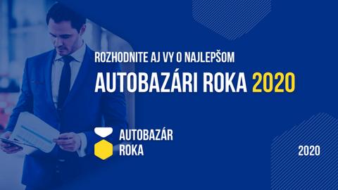 Slováci vyberú najlepší autobazár za rok 2020
