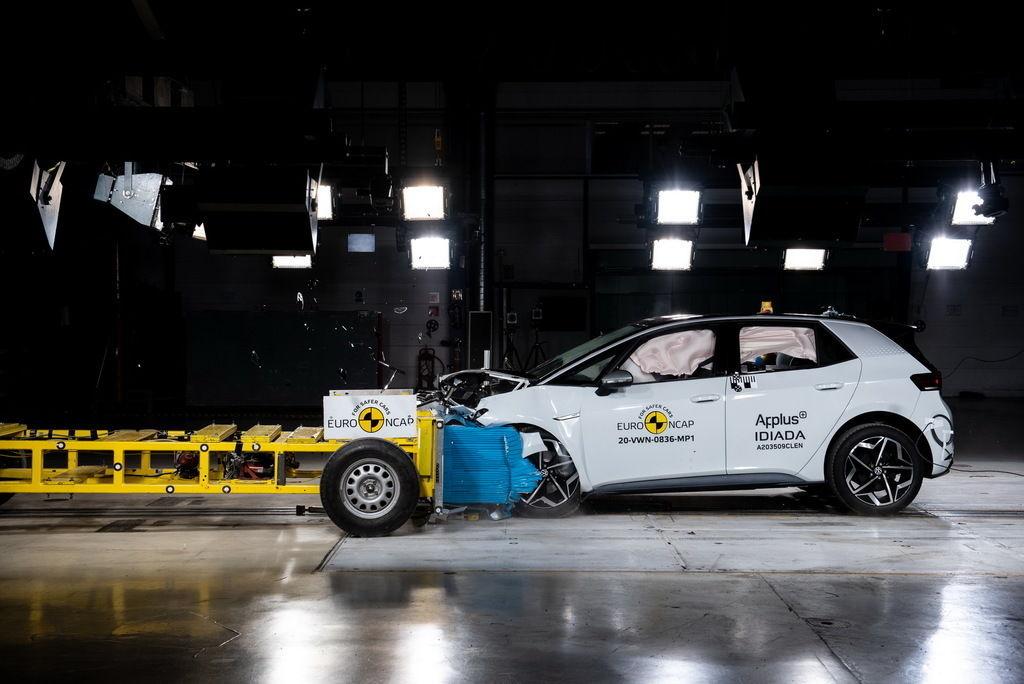 VW ID. 3 crash test euro ncap