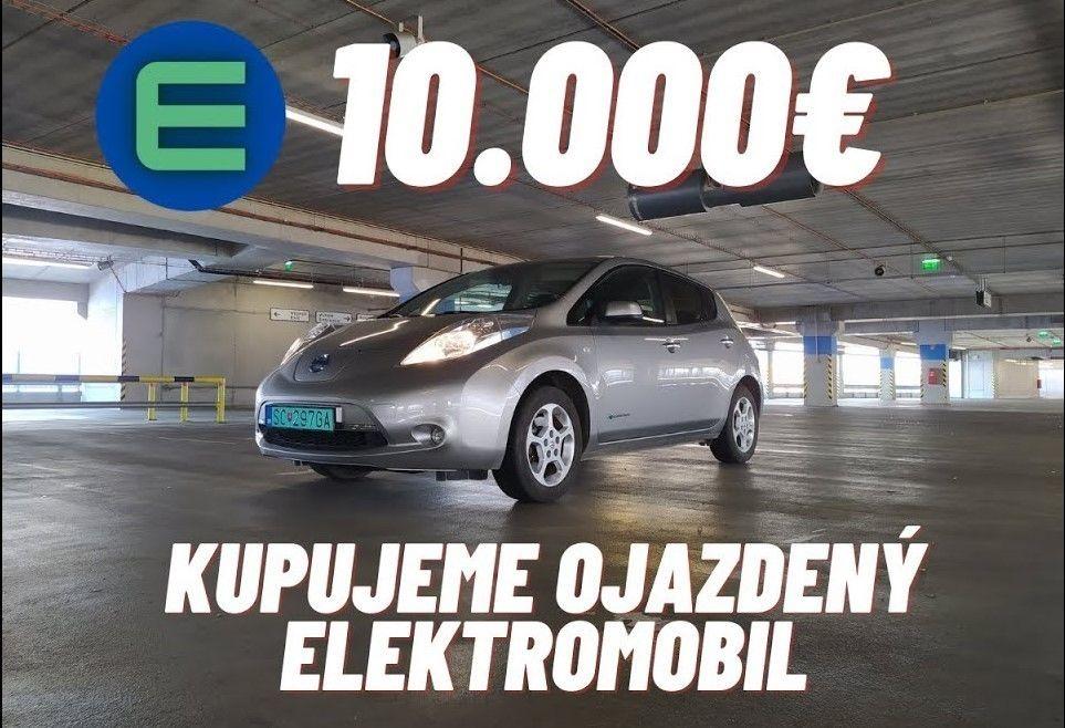 Ojazdený Nissan Leaf po 100 000 km