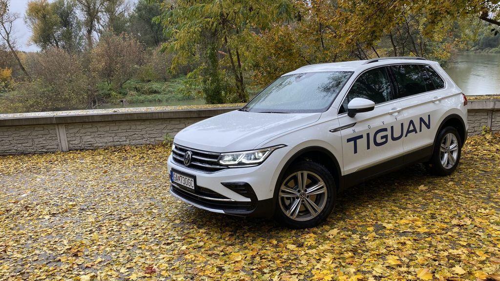 VW Tiguan 2020 facelift test