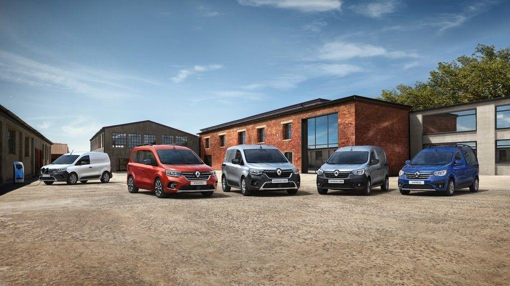 Nový Renault Kangoo a Express