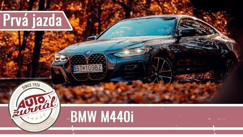 JAZDA BMW M440i xDrive Coupé: Veľké obličky sú znakom výnimočnosti