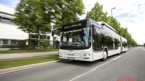 Autobusom roka je MAN Lion´s City GL CNG