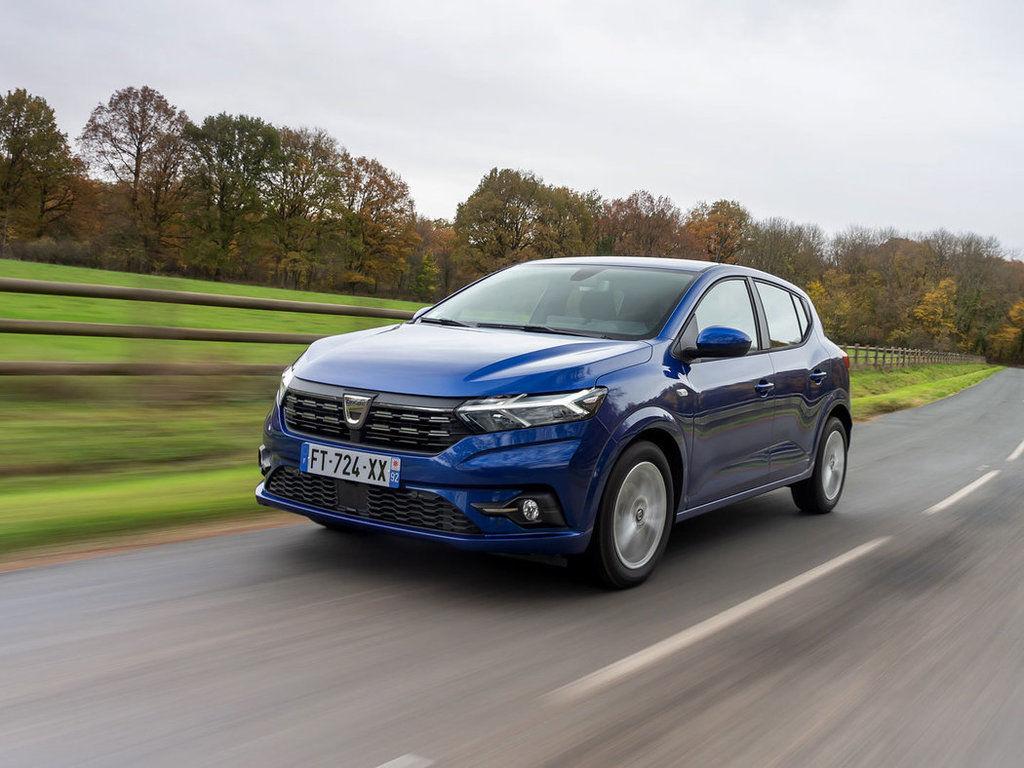 Dacia Sandero a Logan 2021 - technické údaje