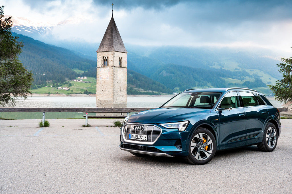 Audi e-tron 2021 modernizácia