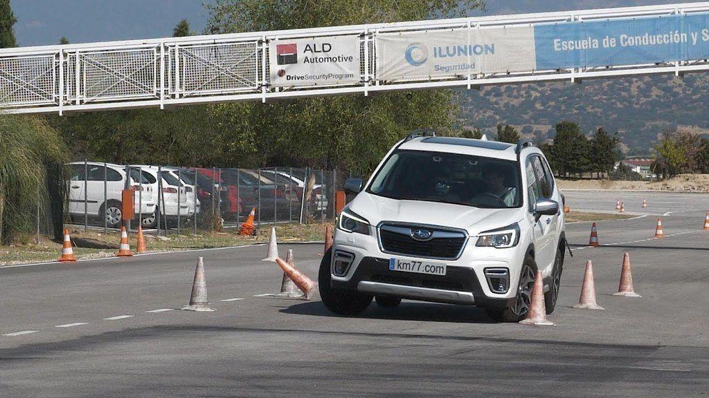 Subaru Forester losí test