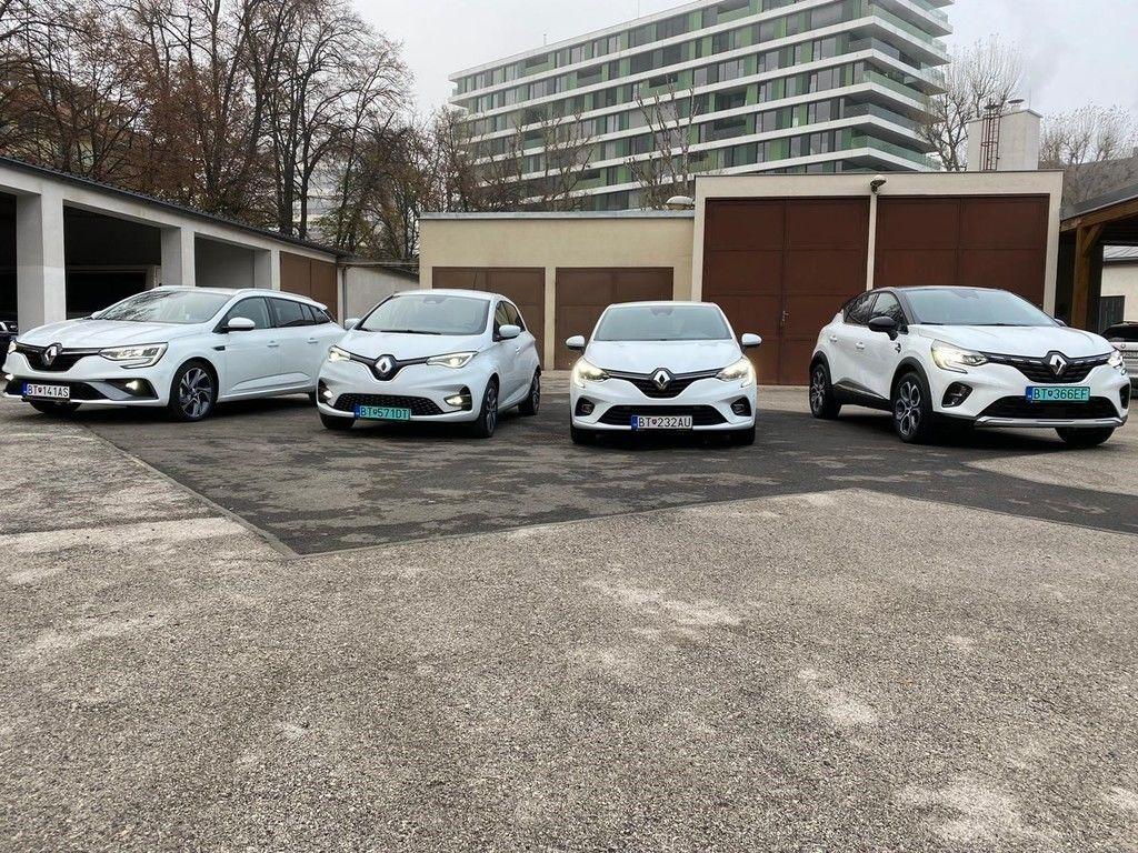Ministerstvo Vnútra SR jazdí na Renaultoch