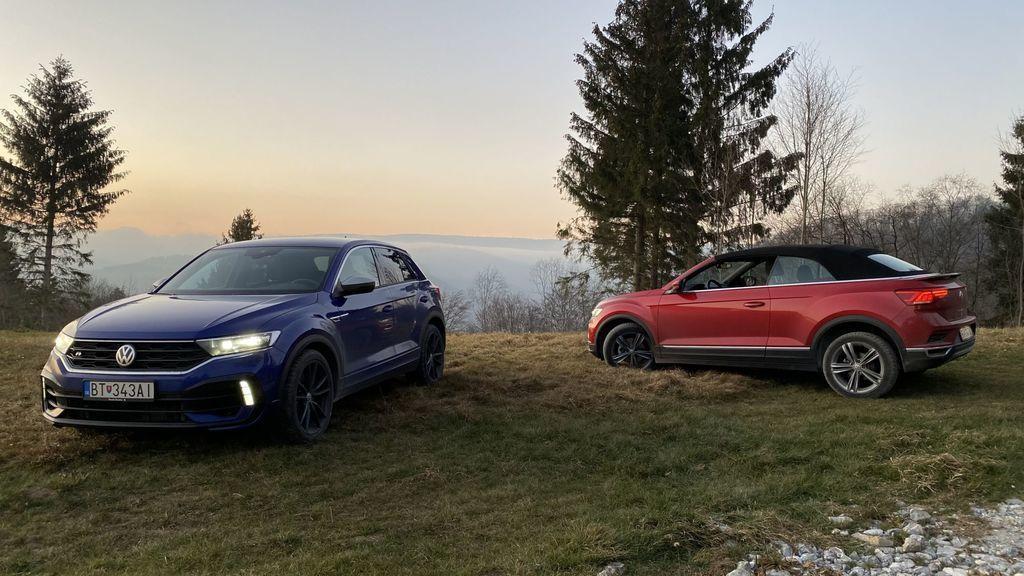 Volkswagen T-Roc R a T Roc Cabriolet Test