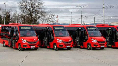 DPB kúpil moderné minibusy